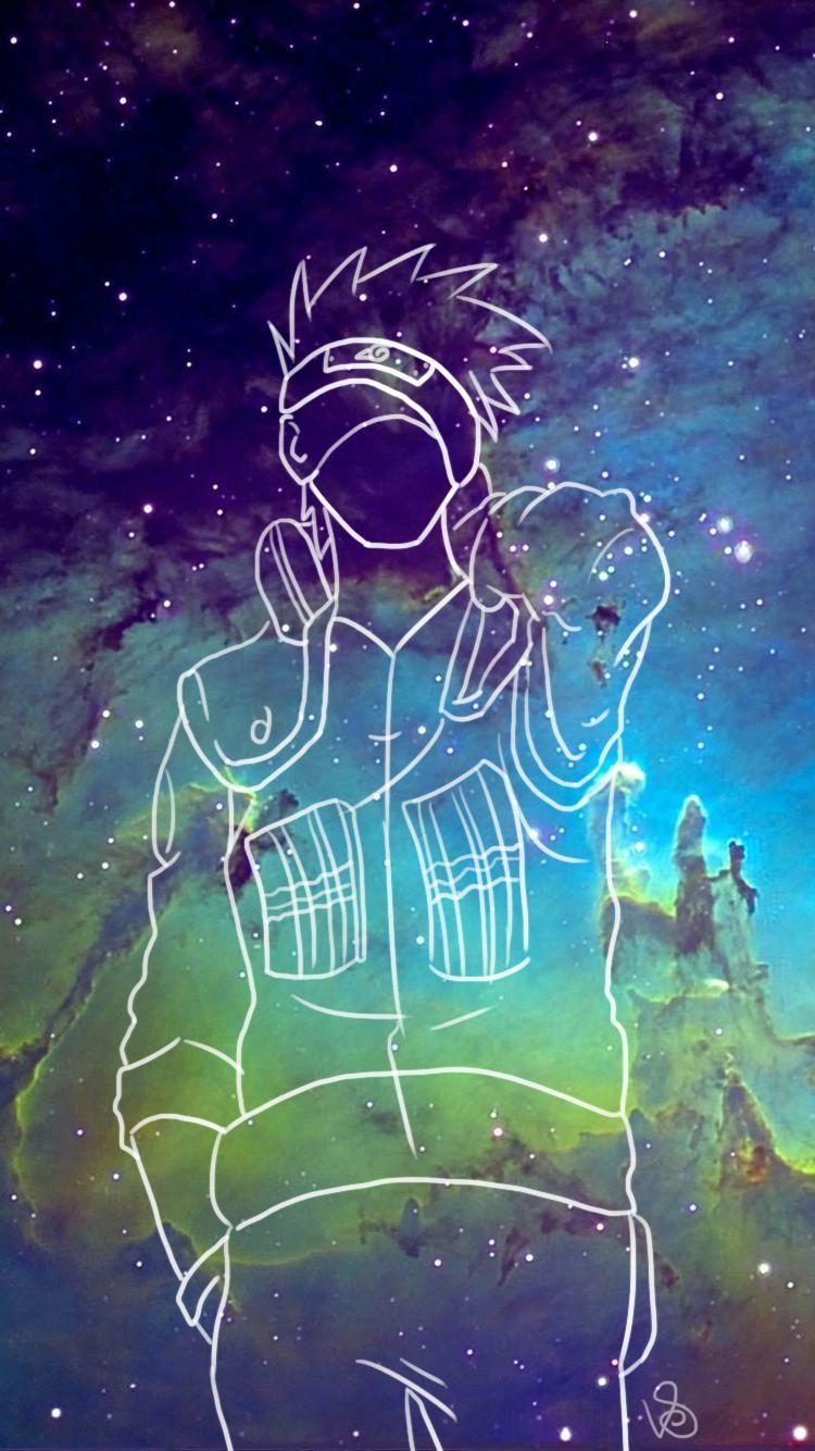 Kakashi wallpaper Seni anime, Seni gelap, Cara menggambar