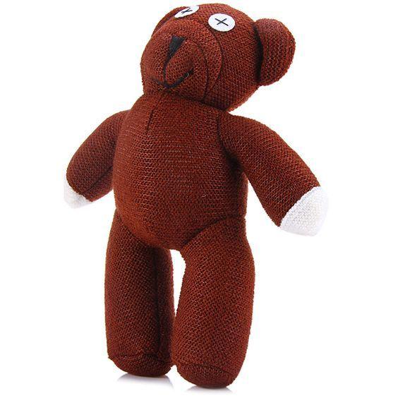 """Funny 12/"""" Movie Mr-Bean Teddy-Bear Soft Doll Stuffed Animal Plush Toy USA"""