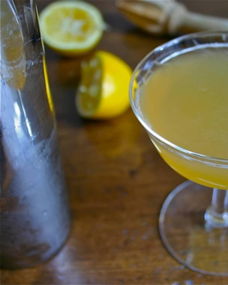 Photo of Meyer Lemon Whiskey Sour: A Sunny Drink for Winter Straight Up Cocktails and Spirits