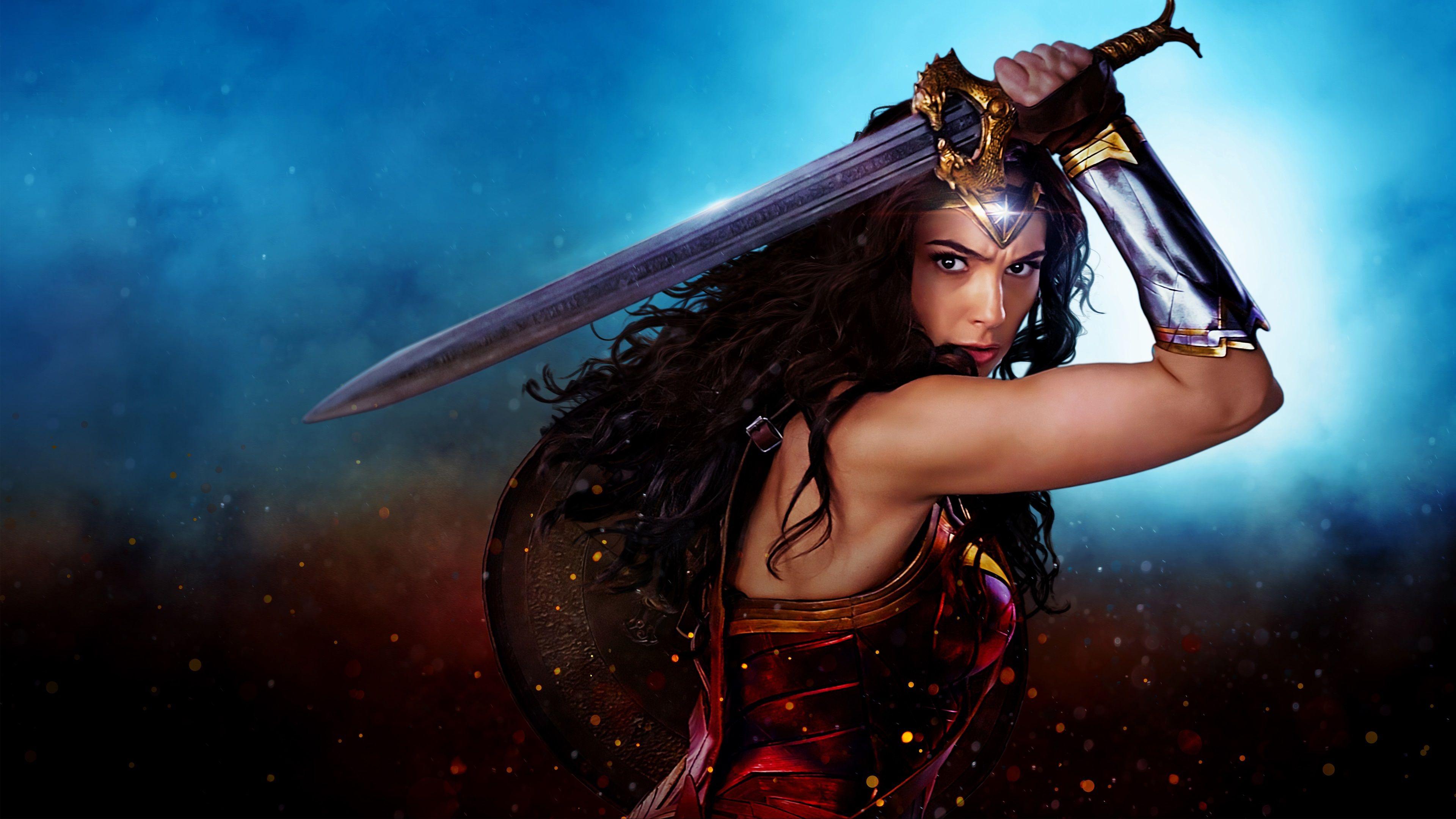 Wonder Woman Movie Uhd 4k Wallpaper: 3840x2160 Wonder Woman 4k Desktop Wallpaper High