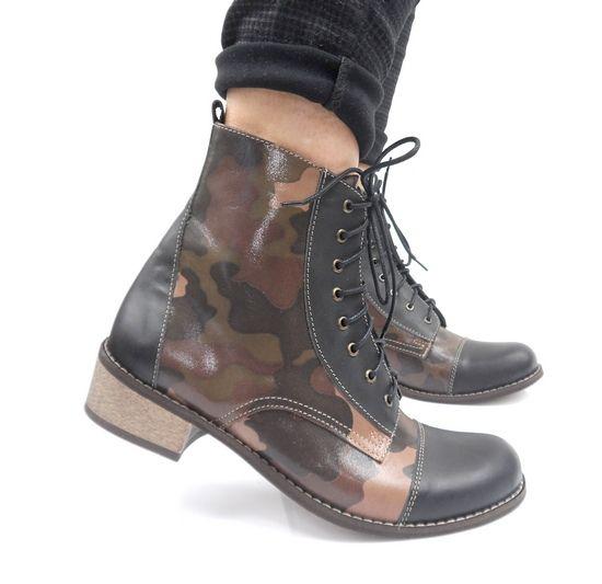 Hit Botki Moro Przejsciowe 100 Skora 35 43 5913404173 Oficjalne Archiwum Allegro Combat Boots Shoes Boots