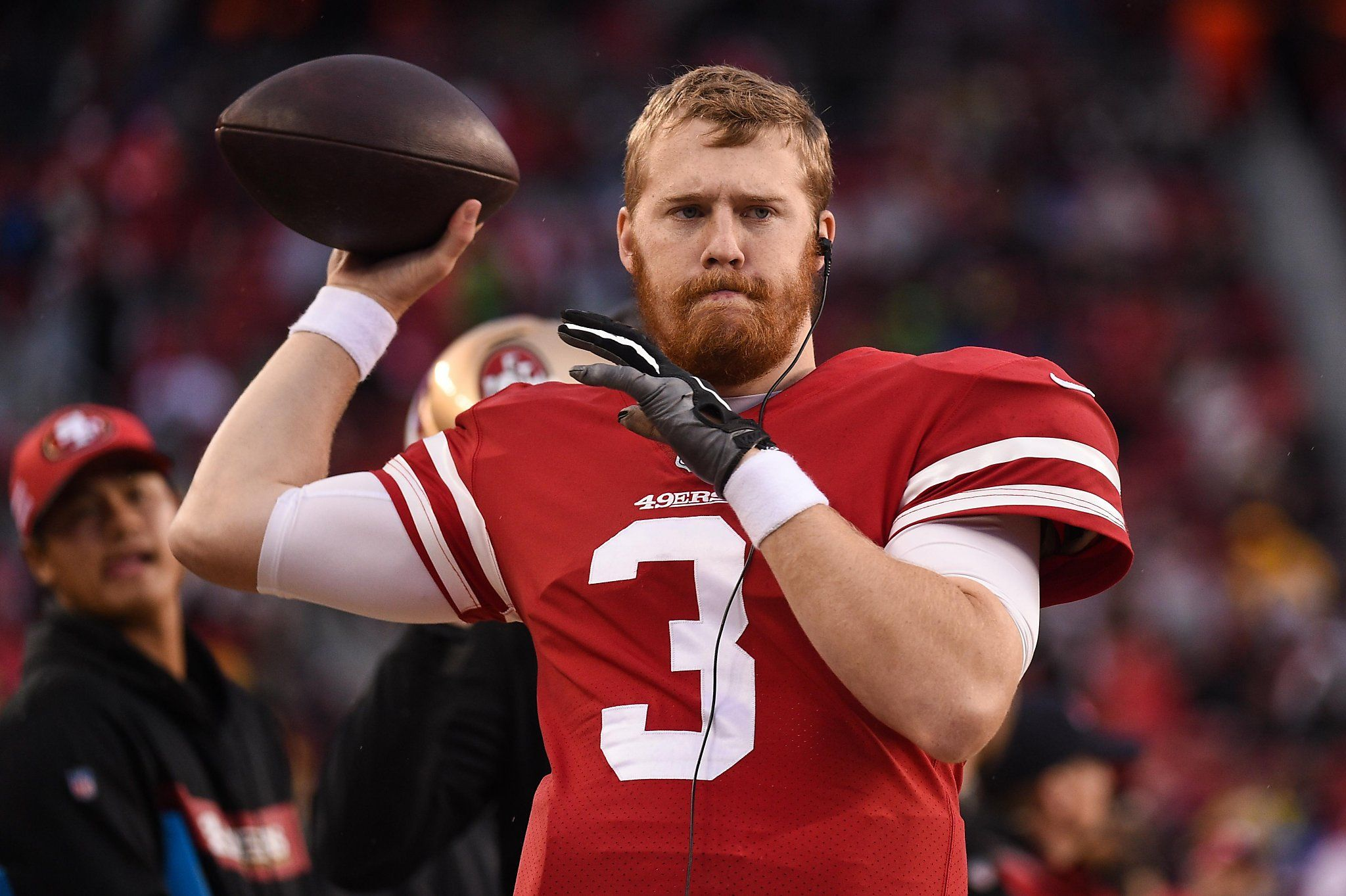 49ers' C.J. Beathard posts tribute to younger brother