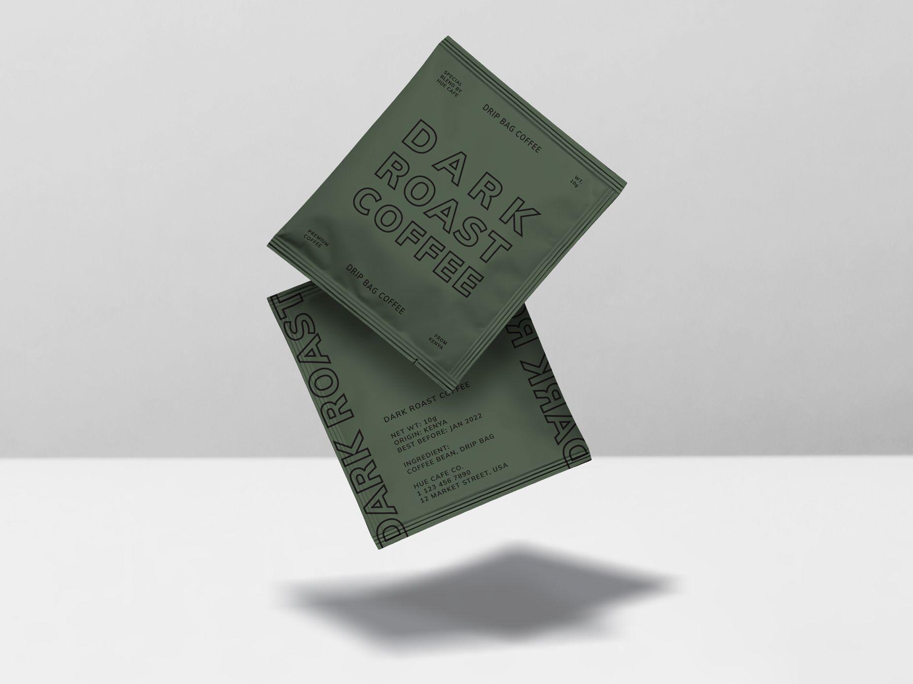 Download Chai Tea Bag Sealed Bag Mockup Bag Mockup Coffee Bag Design Mockup