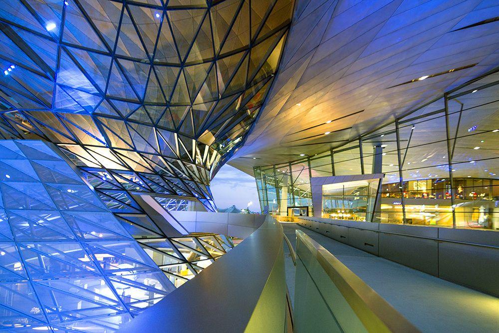 BMW Welt | designed by Coop Himmelb(l)au. Munich www.facebo… | Flickr - Photo Sharing!