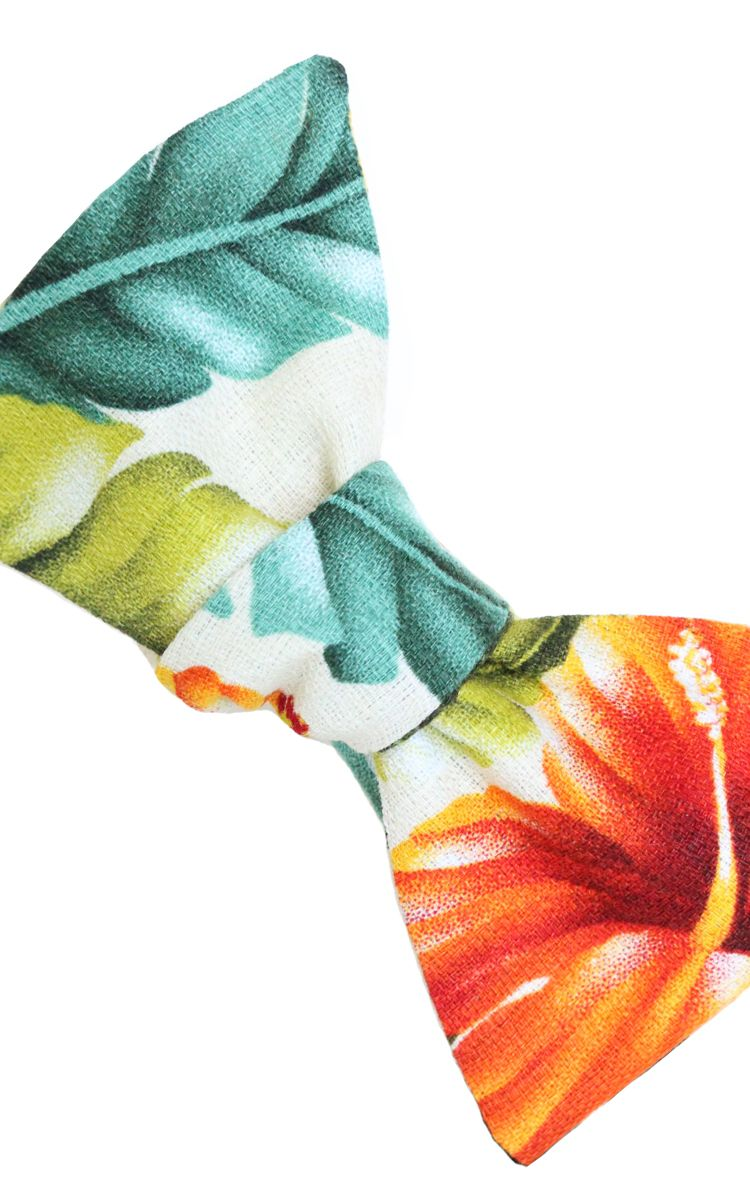 Tropical Print Floral Bow Tie from LORD WALLINGTON   http://lordwallington.com/product/tropical-floral-bow-tie/