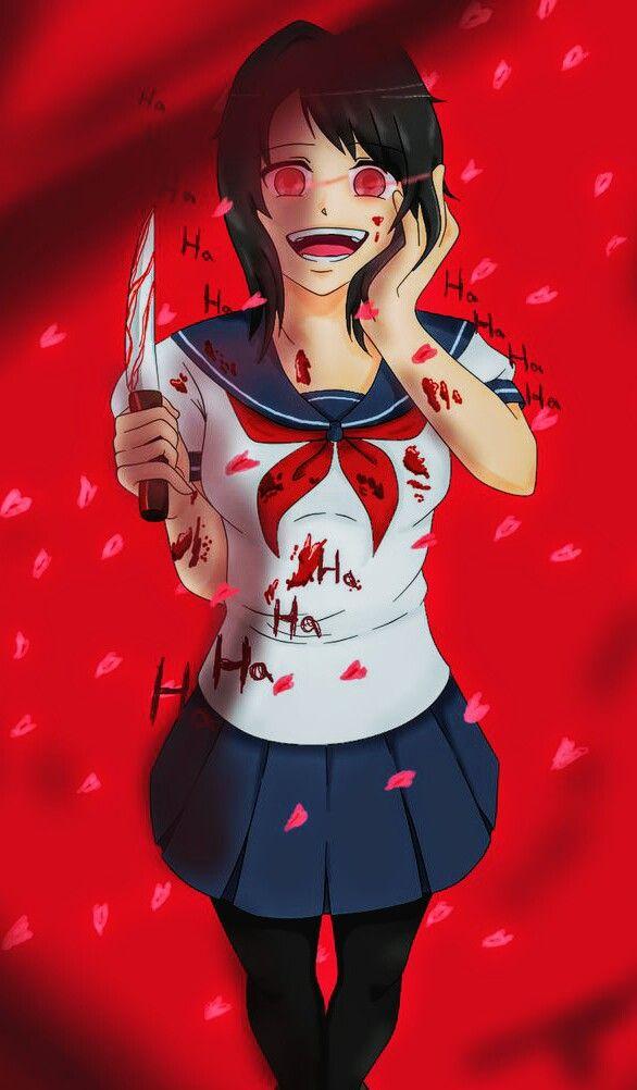 AYANO AISHI FOLLE. Personnage manga fille, Yandere et