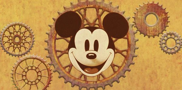 Disney and steampunk? Well, it looks cool as heck.