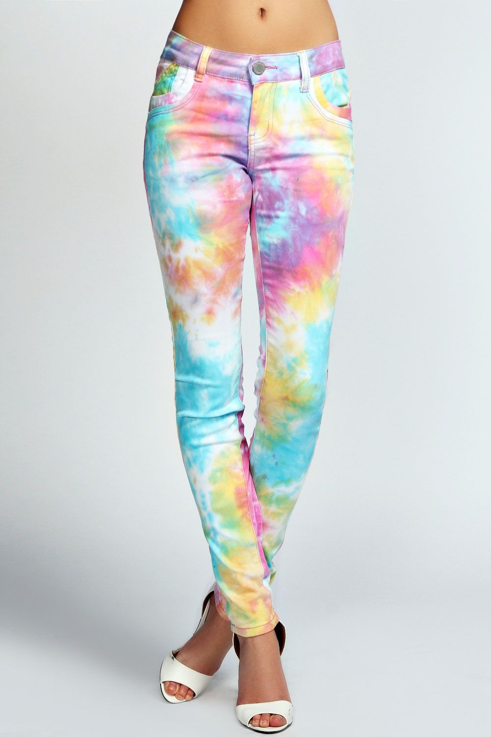 how to tie dye sweatpants with food coloring