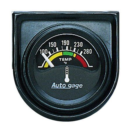 Autometer 2355 Autogager Electric Water Temperature Gauge, Multicolor |  Electrical problems, Gauges, Electrical wiring diagram | Hyundai Accent Temp Gauge Wiring Diagram |  | Pinterest