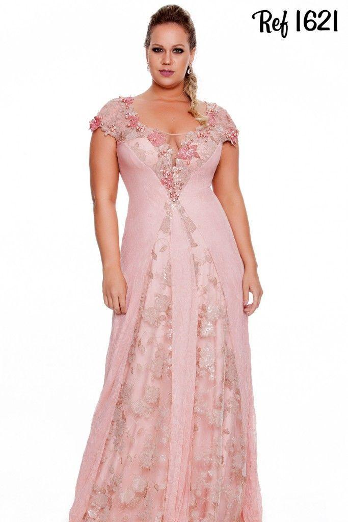Resultado de imagen para vestidos de festa plus size | Moda Femenina ...