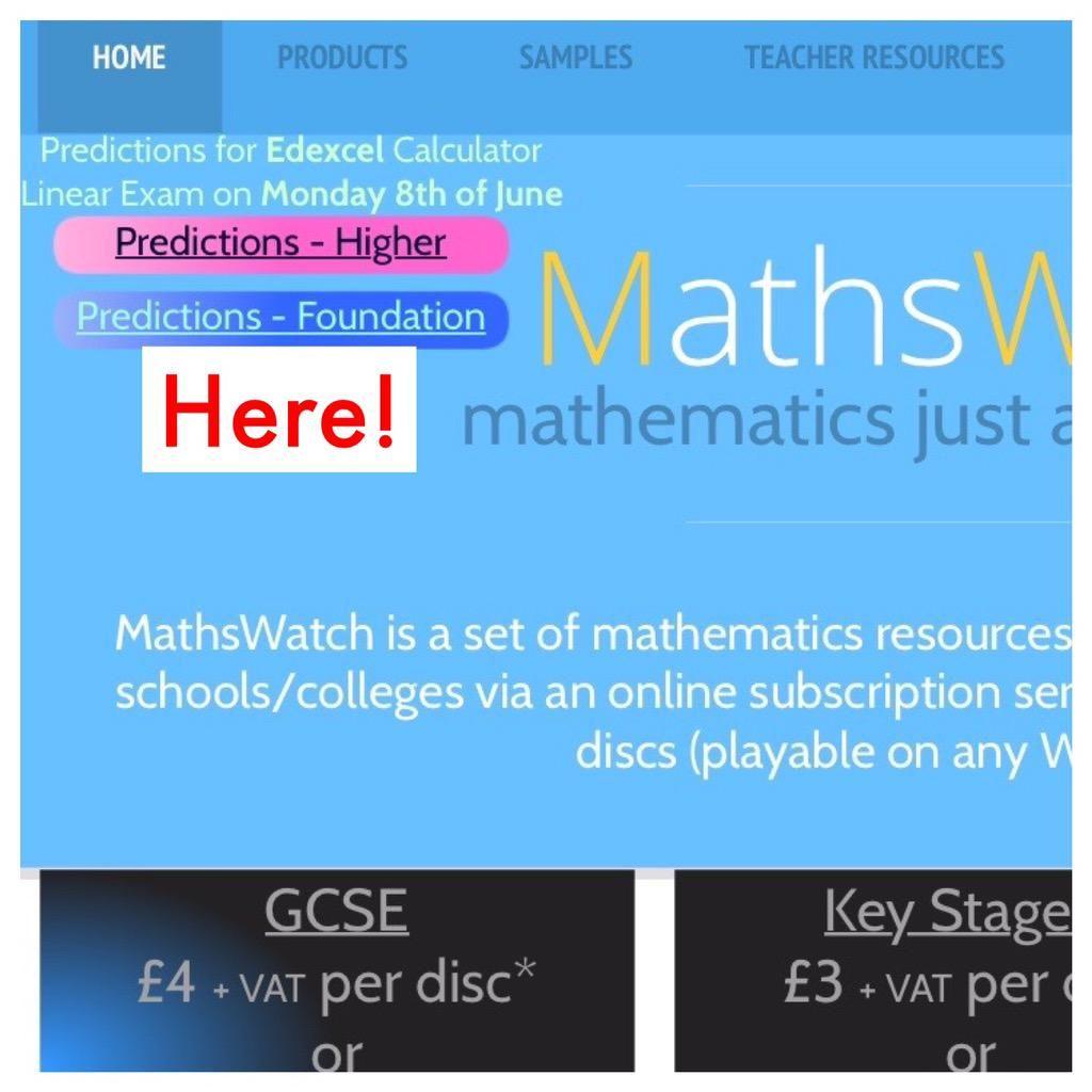 Mathswatch On
