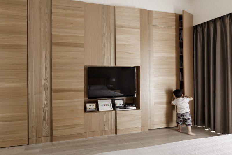 Partidesign Banqiao Wooden Apartment Hidden Doors In Walls Wood Doors Interior Hidden Door