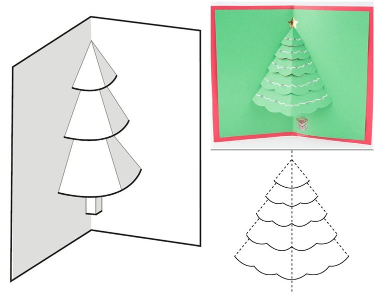 15 Wunderbar Weihnachtskarten Basteln Mit 11