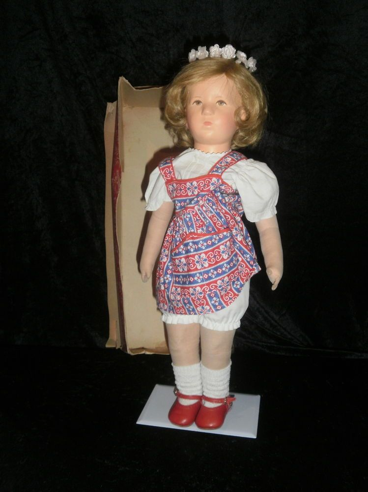 "very rare Antique/Vintage Kathe Kruse Doll "" Schwesterchen"" only made 1958"