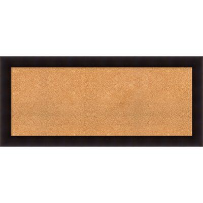 Darby Home Co Hillandale Wall Mounted Bulletin Board Frame Shop Wall Mount Cork Bulletin Boards