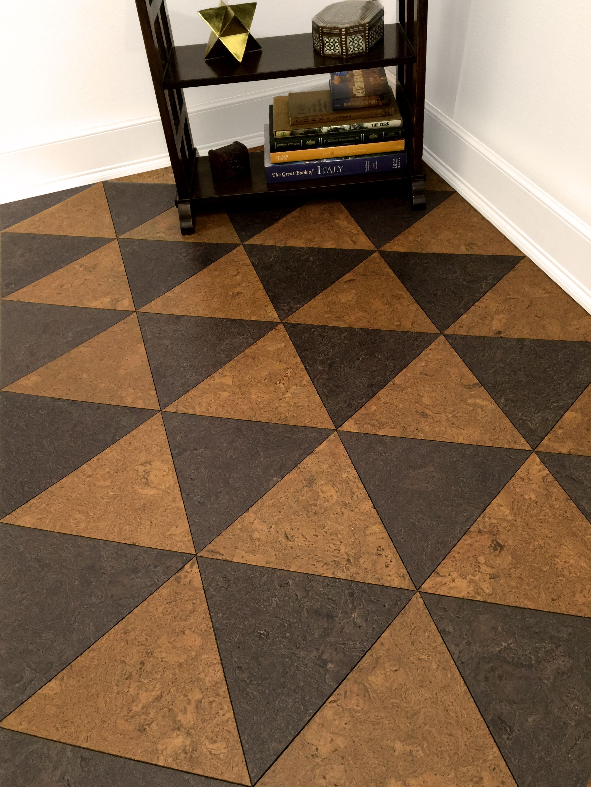 Cork tiles for flooring yes this is a cork floor from for Is cork flooring good for basements