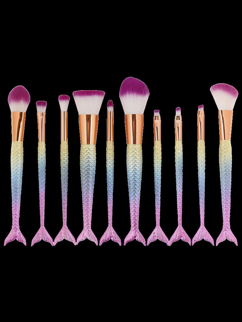 Mermaid brushes Mermaid makeup brushes, Cosmetic brush