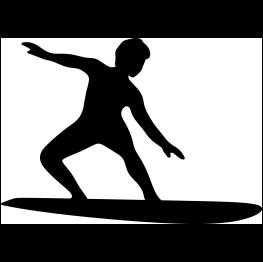Surfer Clip Art - Royalty Free - GoGraph