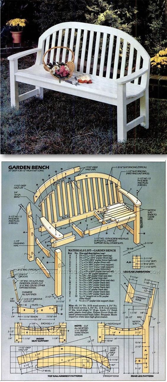 Surprising Garden Bench Plans Outdoor Furniture Plans And Projects Gmtry Best Dining Table And Chair Ideas Images Gmtryco