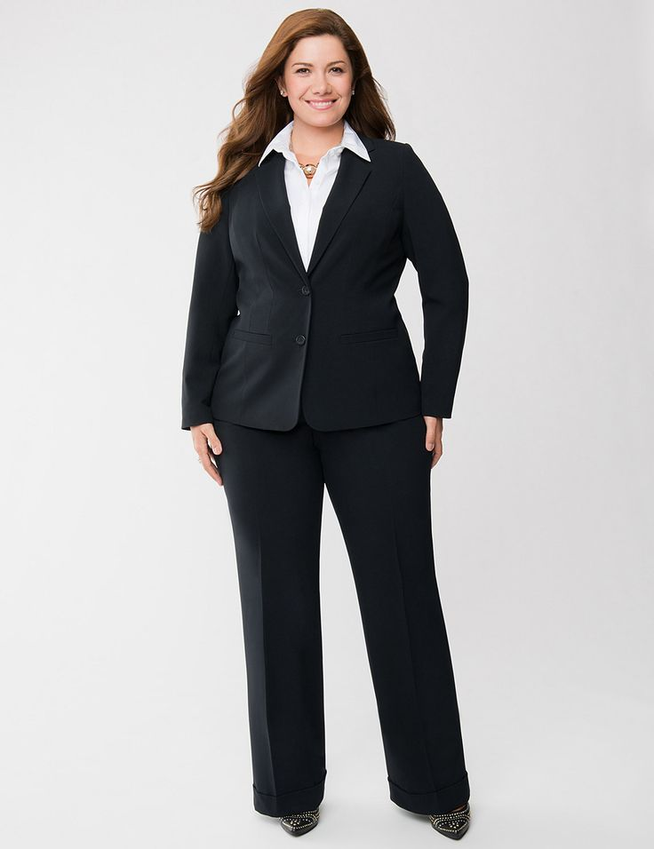 67e35811 Look Confident in meeting by wearing Plus Size Business Clothes