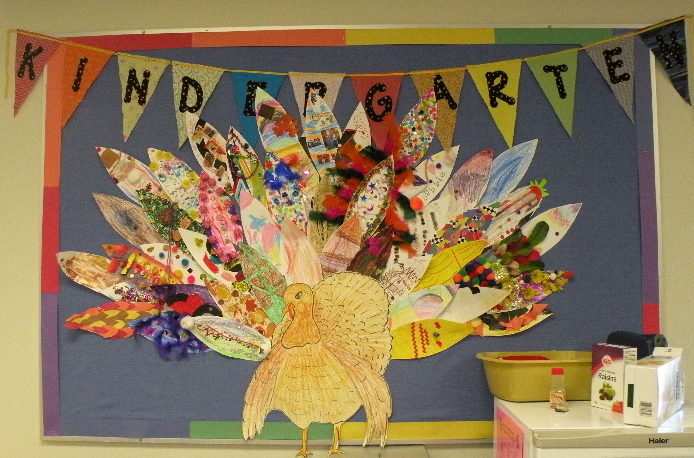 Our Turkey Lost His Feathers Each Child Decorates A