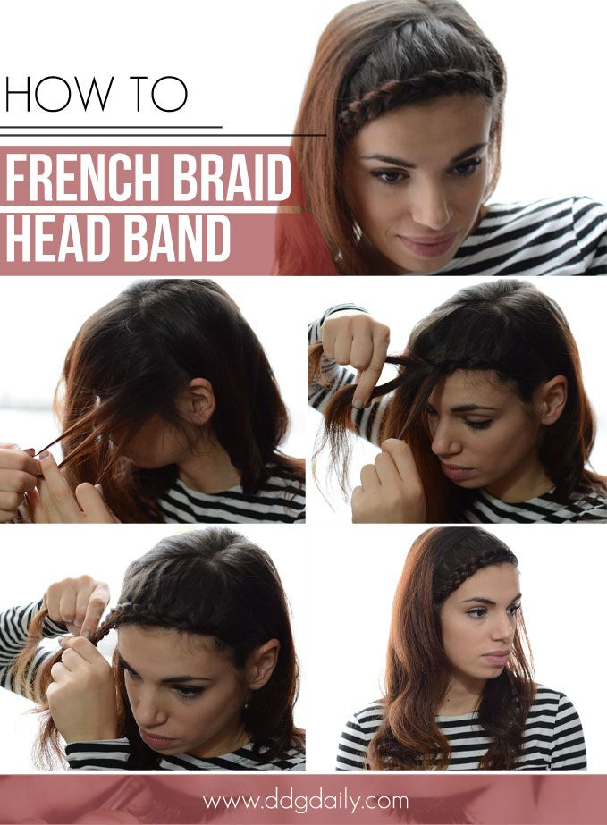 Ddg diy french braid head band hair do pinterest french braid ddg diy french braid head band solutioingenieria Gallery