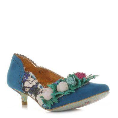 3dd711f58af4 Bridesmaids shoes - Womens Irregular Choice Chi Wowa Blue Court Shoes SIZE  5  Amazon.co.uk  Shoes   Bags
