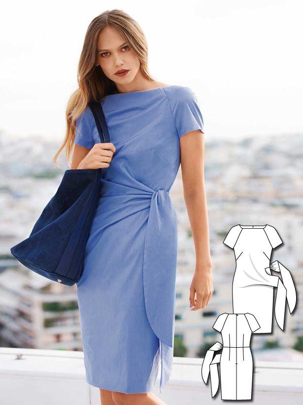 Blue Crush: 11 New Women\'s Sewing Patterns | Pinterest | Nähideen ...