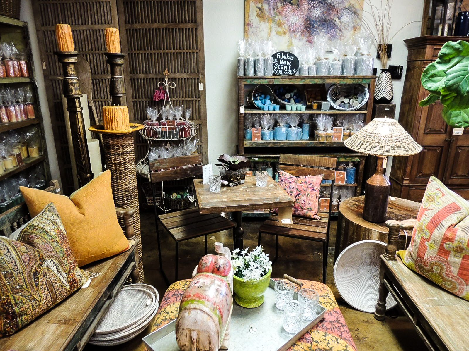 Elegance in every direction! #pillows #throws #benches #candles ...