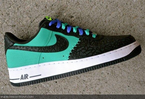 photos officielles 8e908 f5bb9 Nike Air Force 1 Low Godzilla Pack Atomic Teal | Kicks ...