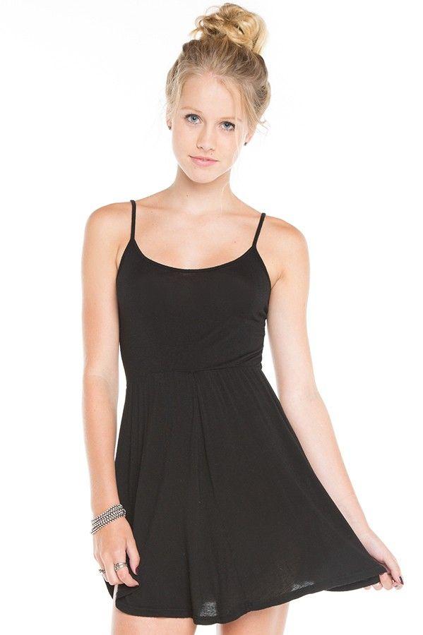 8e330c51806 Simple black dress from Brandy Melville