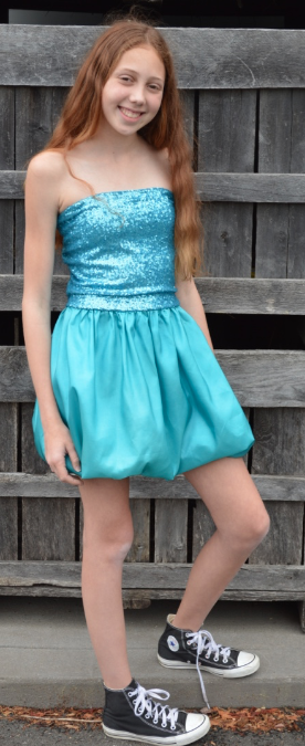 7ea981293de Stella M Lia s BIMBA dress in Calypso Sea . . . Stella M Lia is a Greenwich  based tween teen line of beautiful dresses for 8-15 year old girls perfect  for ...