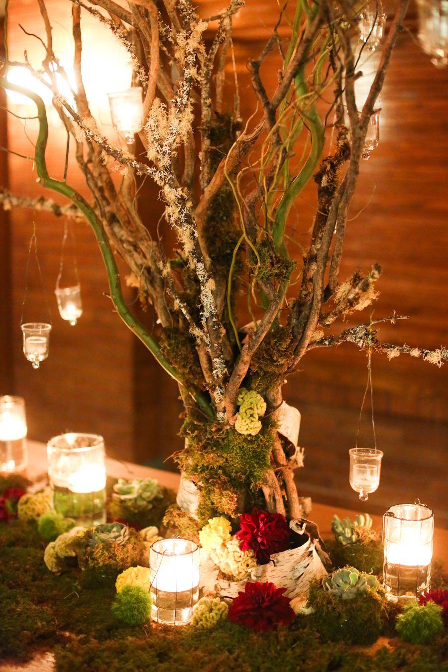Elegant Chicago Wedding at Cafe Brauer Arreglos para