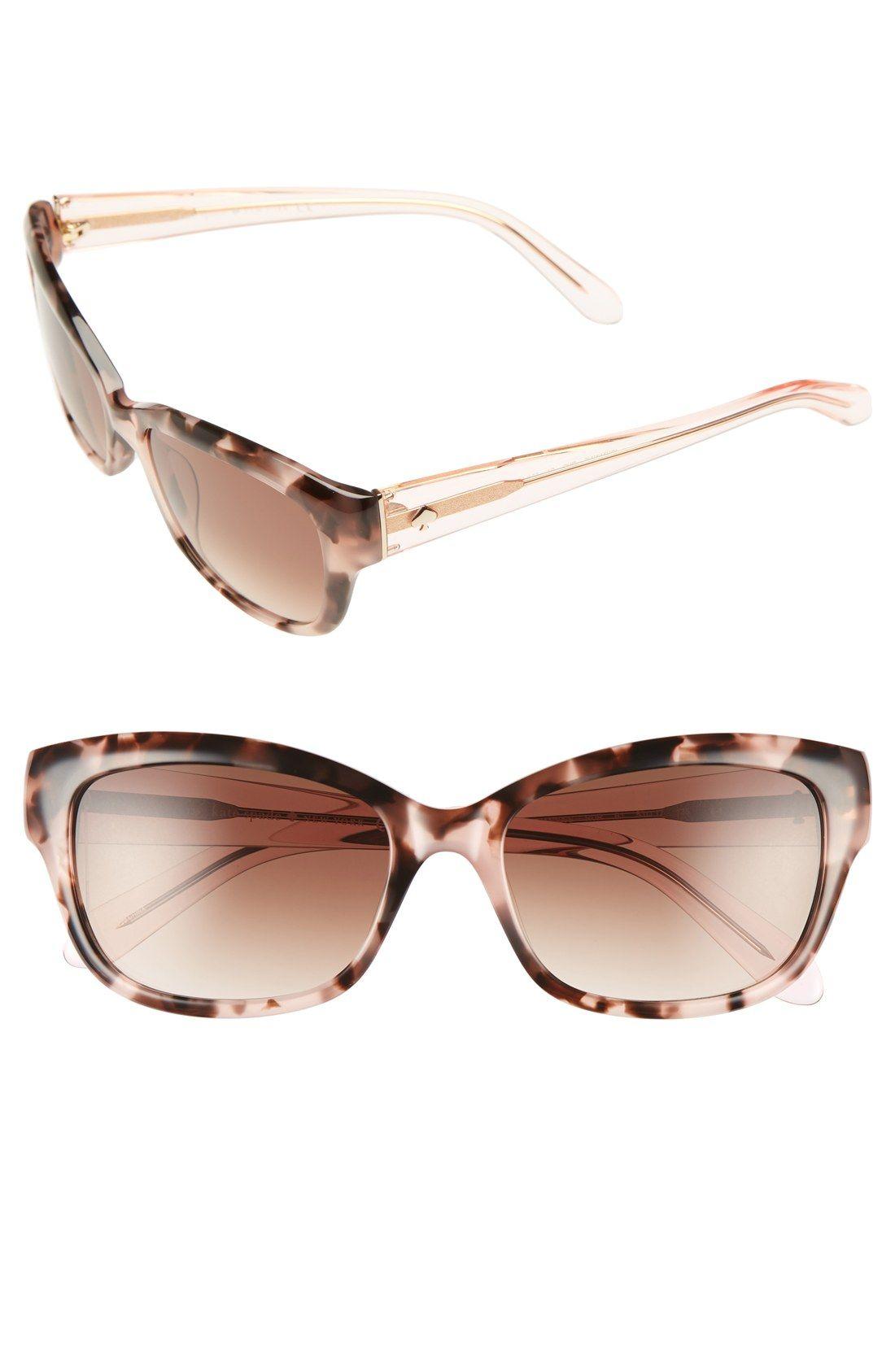 b857e074dbcf kate spade 'johanna' 53mm retro sunglasses | style. | Collares, Carteras