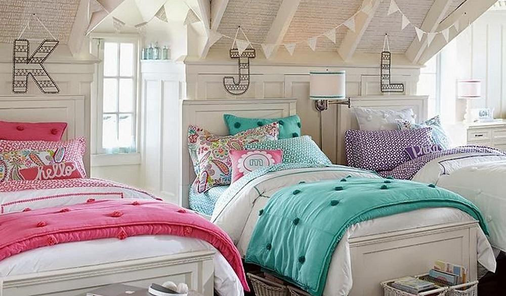 Habitacion compartida nio y nia fabulous habitacin for Decoracion habitacion compartida nino nina