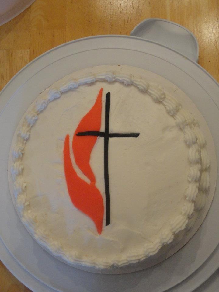 Methodist cross cake cake by mike bradley cross cakes
