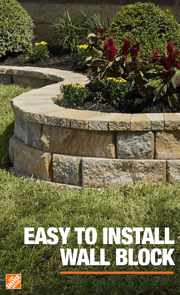 Pavestone S Rockwall System Can Be Configured In A Variety Of Ways