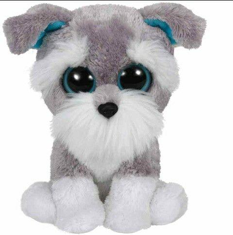 Brown And White Dog Named Duke Dog Beanie Boo The Dog Boo Plush