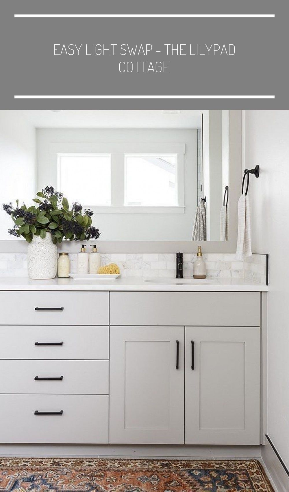 Pin On Modern Farmhouse Bathroom
