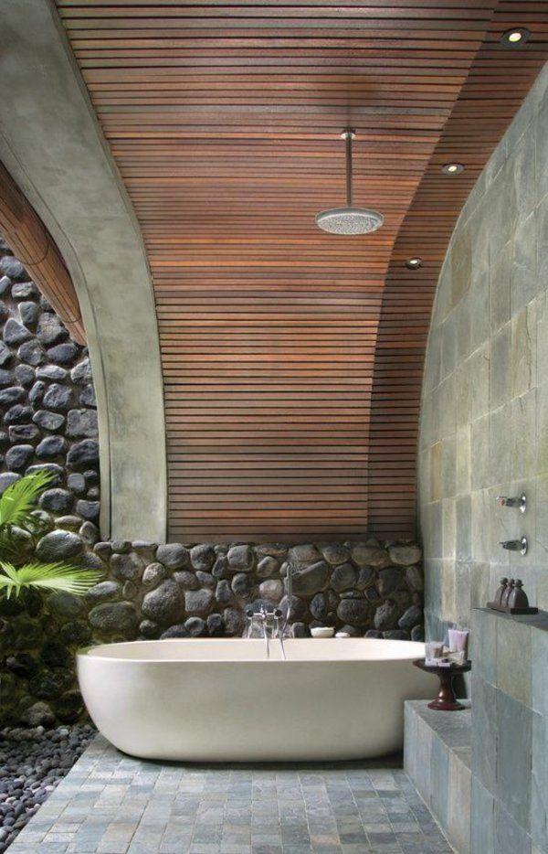 Outdoor Dusche für erfrischende Momente im Sommer Relax room