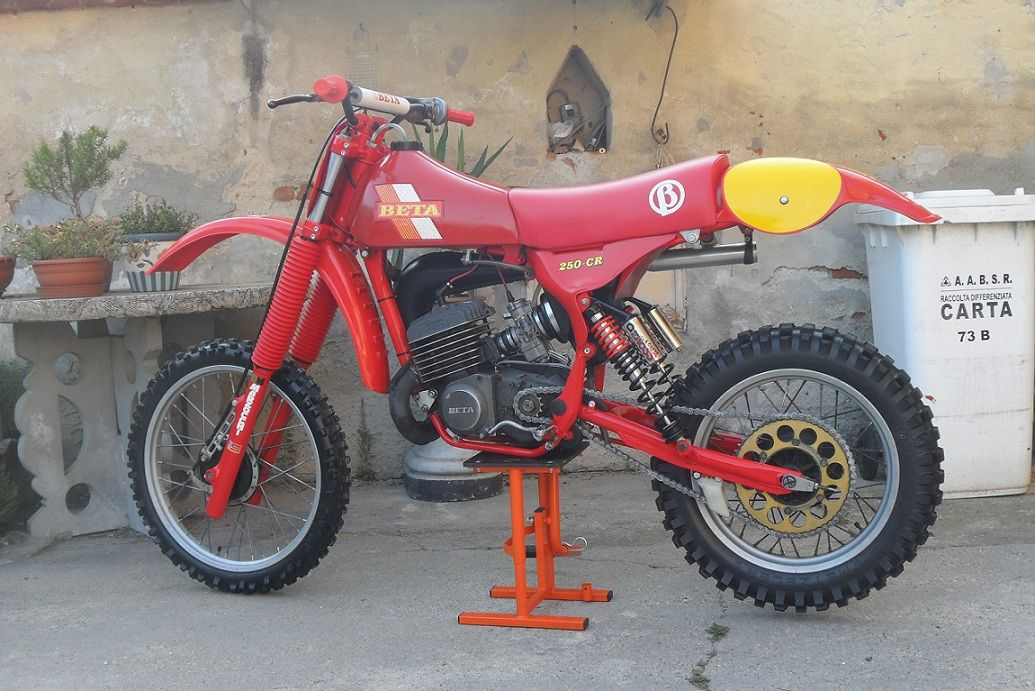 beta cr 250 cc 1981 classic motocross pinterest. Black Bedroom Furniture Sets. Home Design Ideas