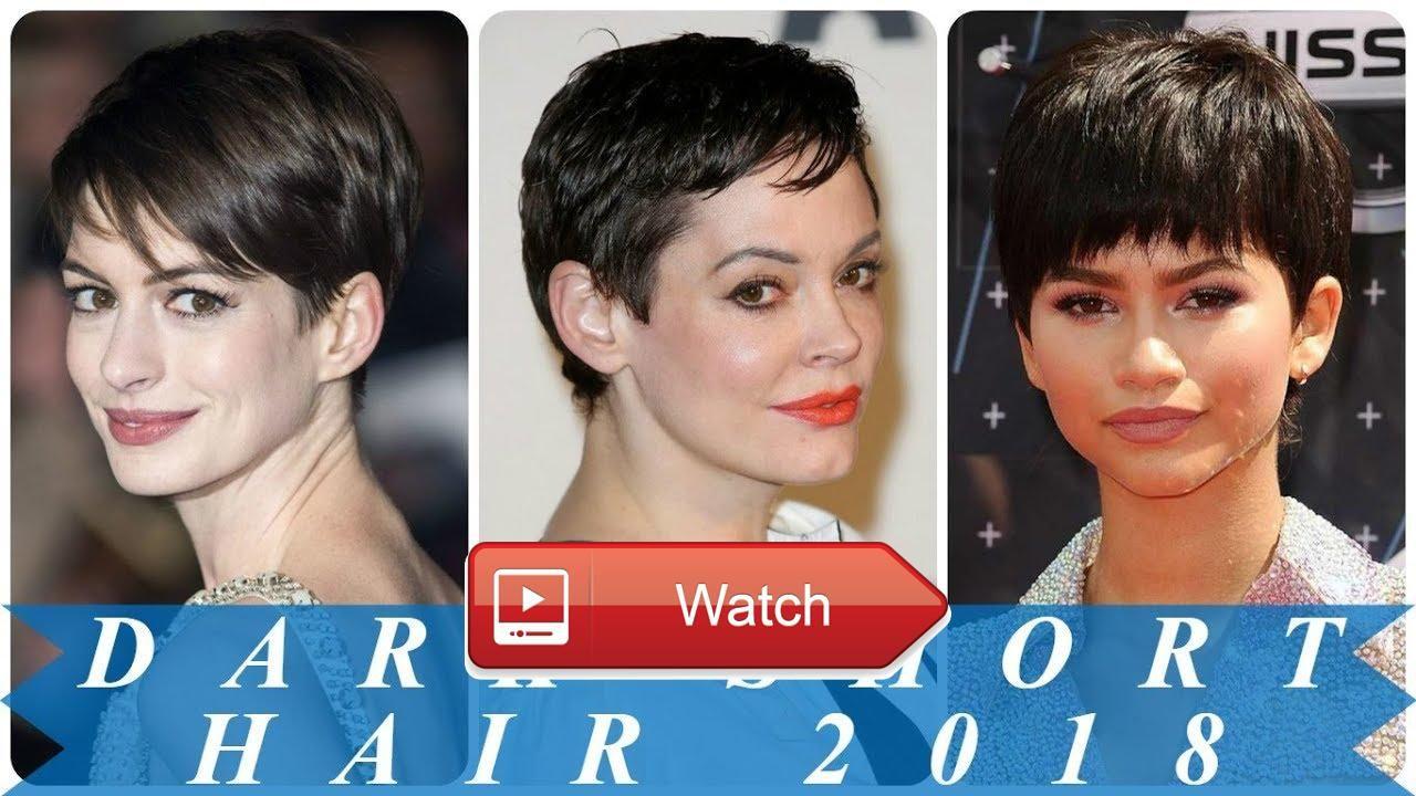 Beautiful short hairstyles for dark hair beautiful short