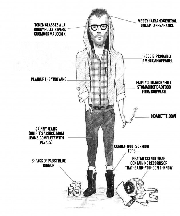 The Hipster (mock) / Image: Courtesy of Headsink's Head