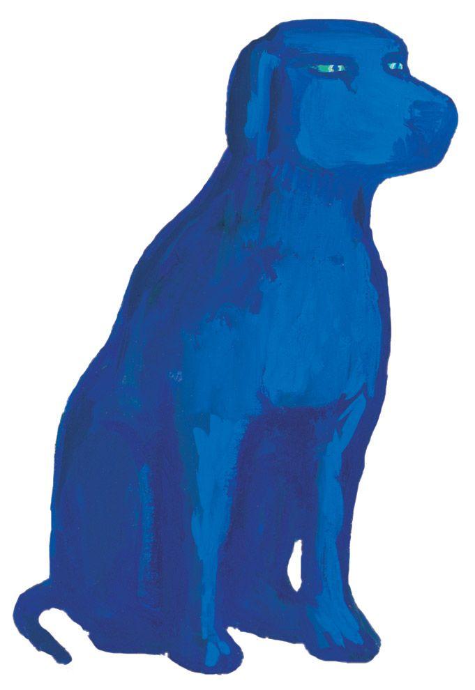 chien bleu anniversaire