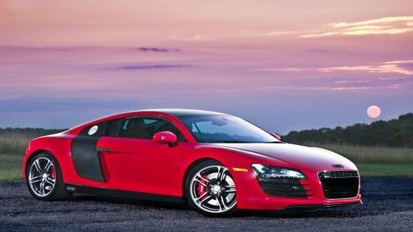 صورة سيارة أودي حمراء مذهلة Photo Max صور ماكس Audi Twin Turbo Car Pictures