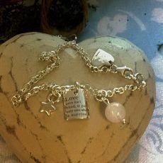 LTD Edition Love Cluster Bracelet 2015 By Alyssa Smith