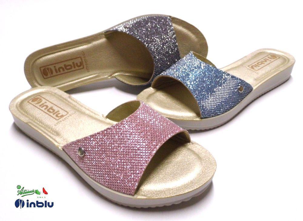 fabbricazione abile miglior sito web colore attraente INBLU pantofole ciabatte donna comode SOFT flessibili ...