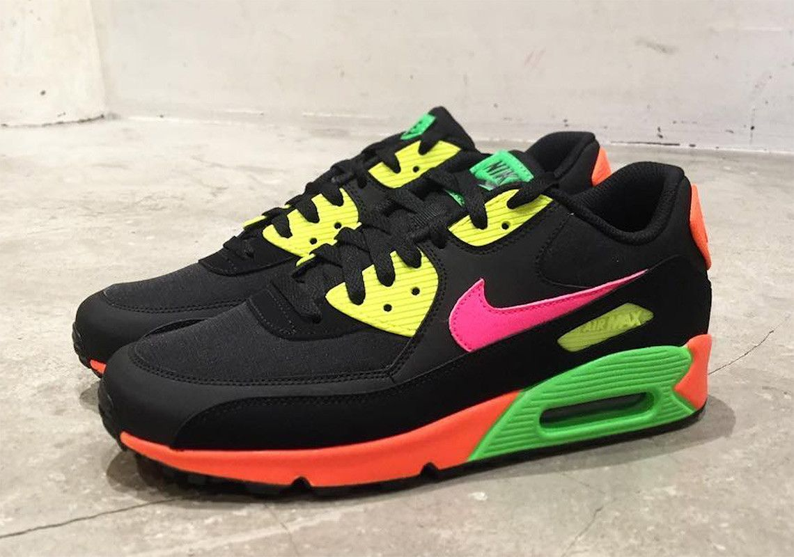 timeless design 785ea fed88 Nike Air Max 90 Neon Release Info  thatdope  sneakers  luxury  dope   fashion  trending