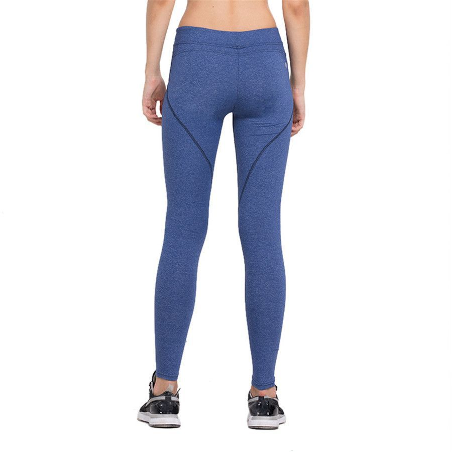 e1533bcdeace1 Women's Running Pants Compression Tights Sexy Hips Push Up Leggings Fitness  Yoga Pants Quick Dry Elastic Trousers