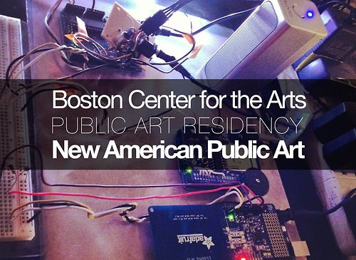 First update from NAPA's residency at the Boston Center for the Arts!